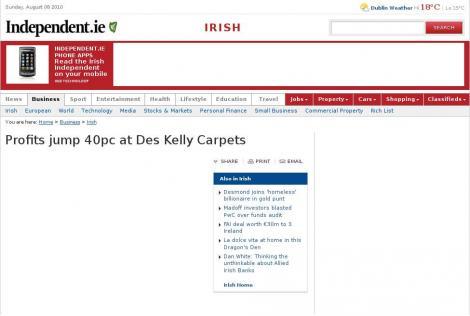 Des Kelly Carpets Sallynoggin