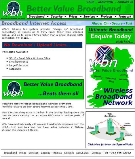 broadband working