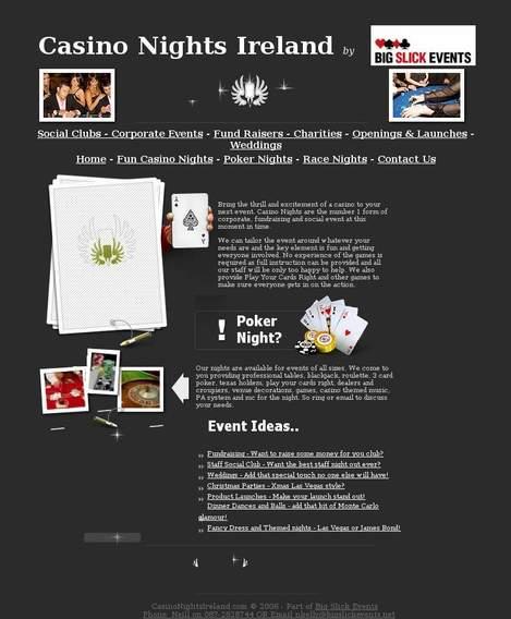 Casino race night top online casino and gambling guide 1999