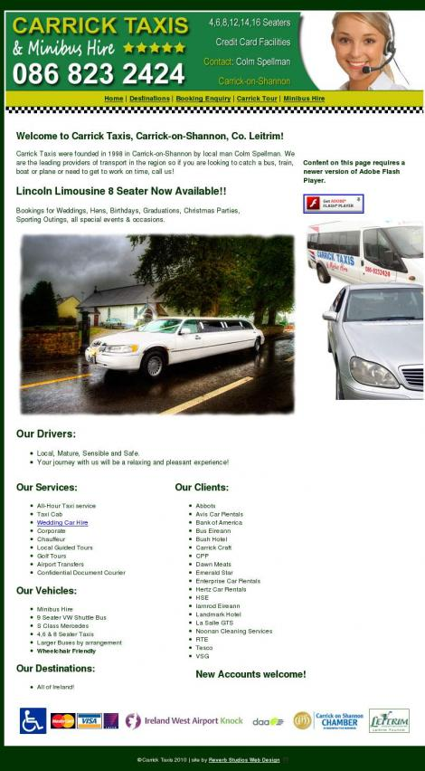 taxis industrie und events
