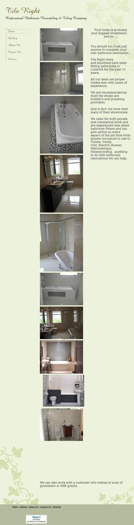 Bathroom showrooms limerick -  Tileright Tileright Ie