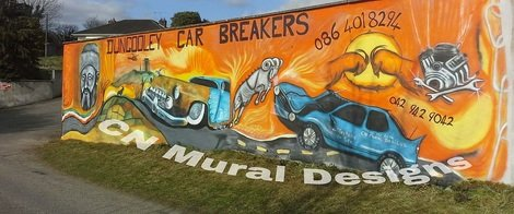 Cnmuraldesigns dundalk louth for Cn mural designs