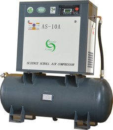AS1.15-10G scroll air compressor