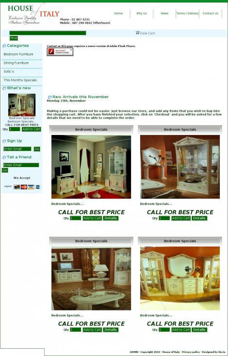 House Of Italy Furniture Coolock Dublin Houseofitaly Ie
