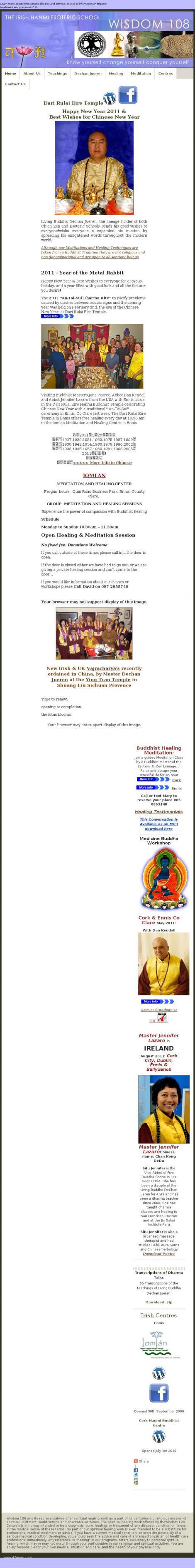 Hanmi Buddhist Healing Cork • Cork •