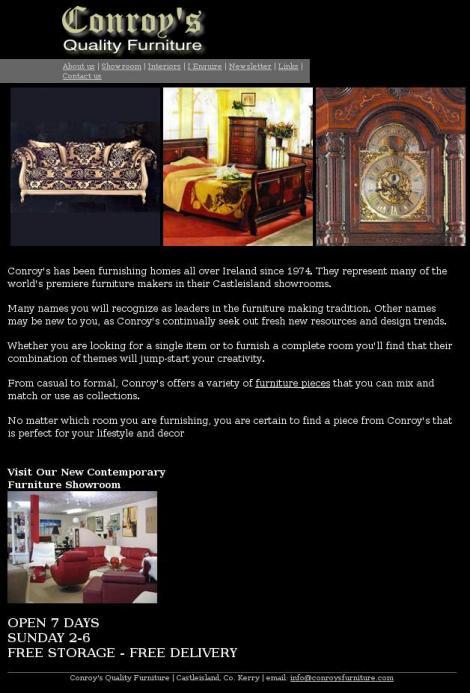 Conroy S Furniture Castleisland Kerry