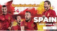 Paradisefootball 2020 EURO Spain Soccer Kit