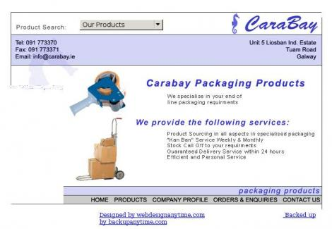 Carabay Packaging Products •