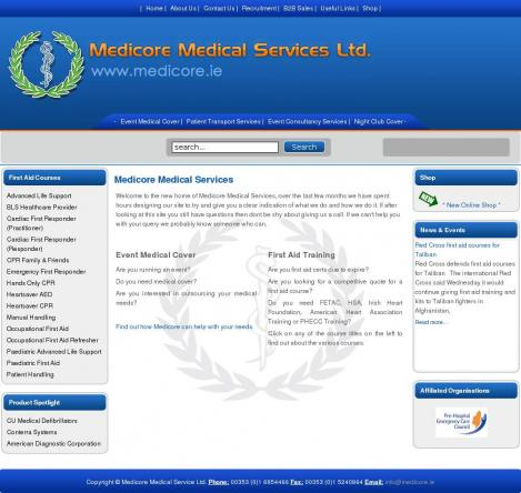 Medicore Medical Services • medicore ie