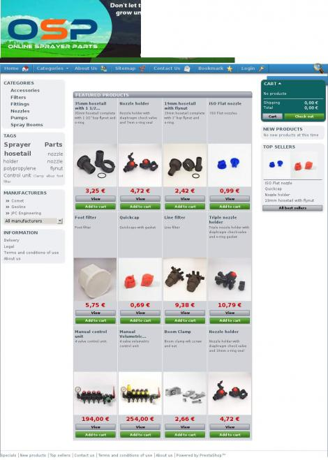 Online Sprayer Parts • Clara • Offaly •