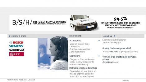 Bosch siemens service
