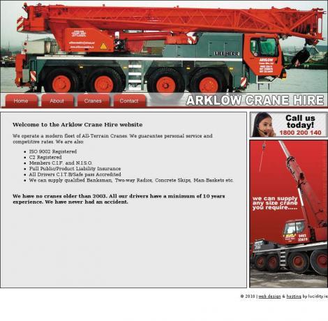 Arklow Crane Hire •