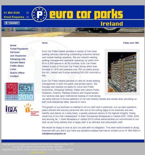 Euro Car Parks Eurocarparks Ie