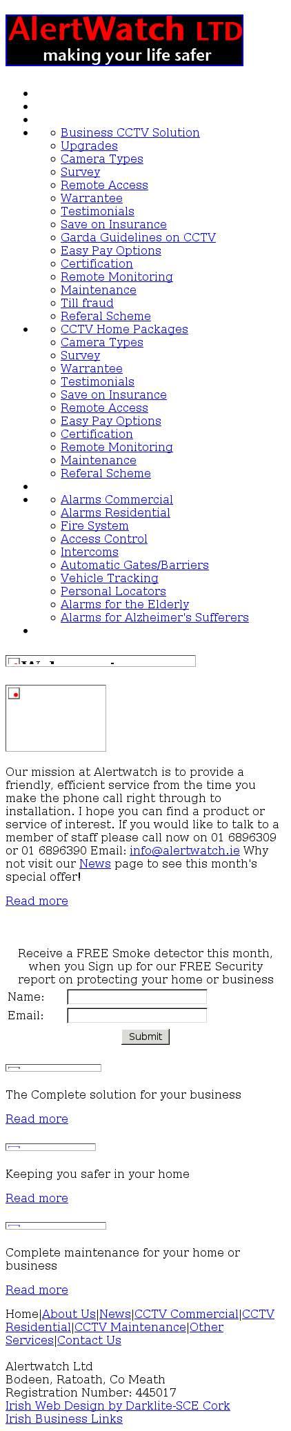 Alertwatch • alertwatch ie