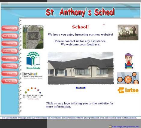St  Anthony's School • Castlebar • Mayo • stanthonysmayo