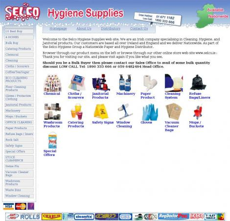 Janitorial  Hygiene Supplies by Selco