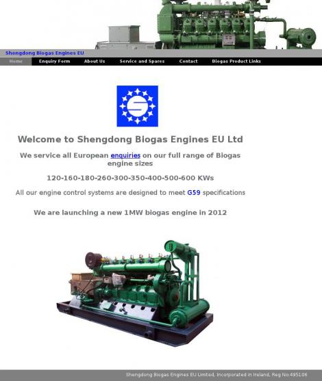 Shengdong Biogas Engines EU Limited • Enfield • Meath •