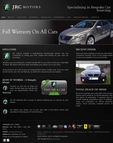 Jrc Motors • jrcmotors com