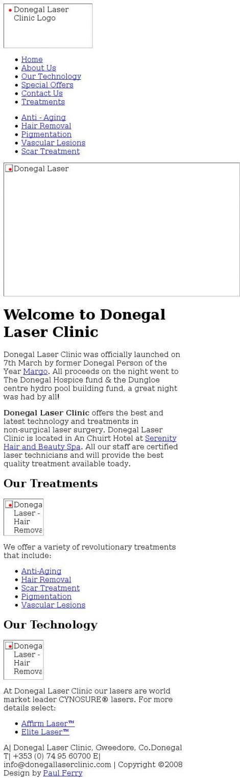 Donegal Laser Clinic •