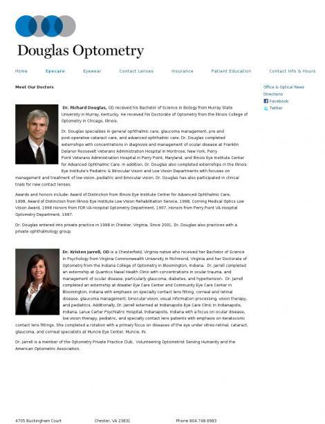 Douglas Eyecare • Cork •