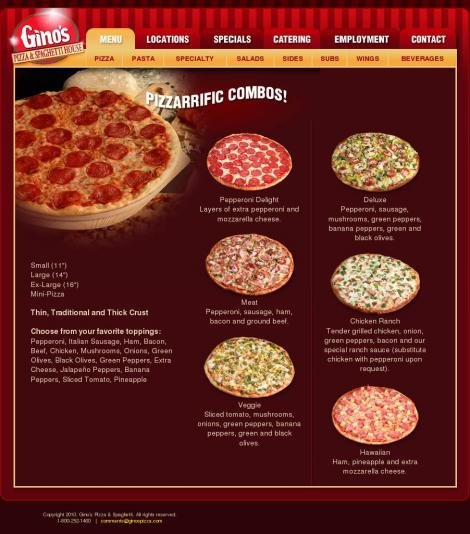 Ginos Pizza Limerick